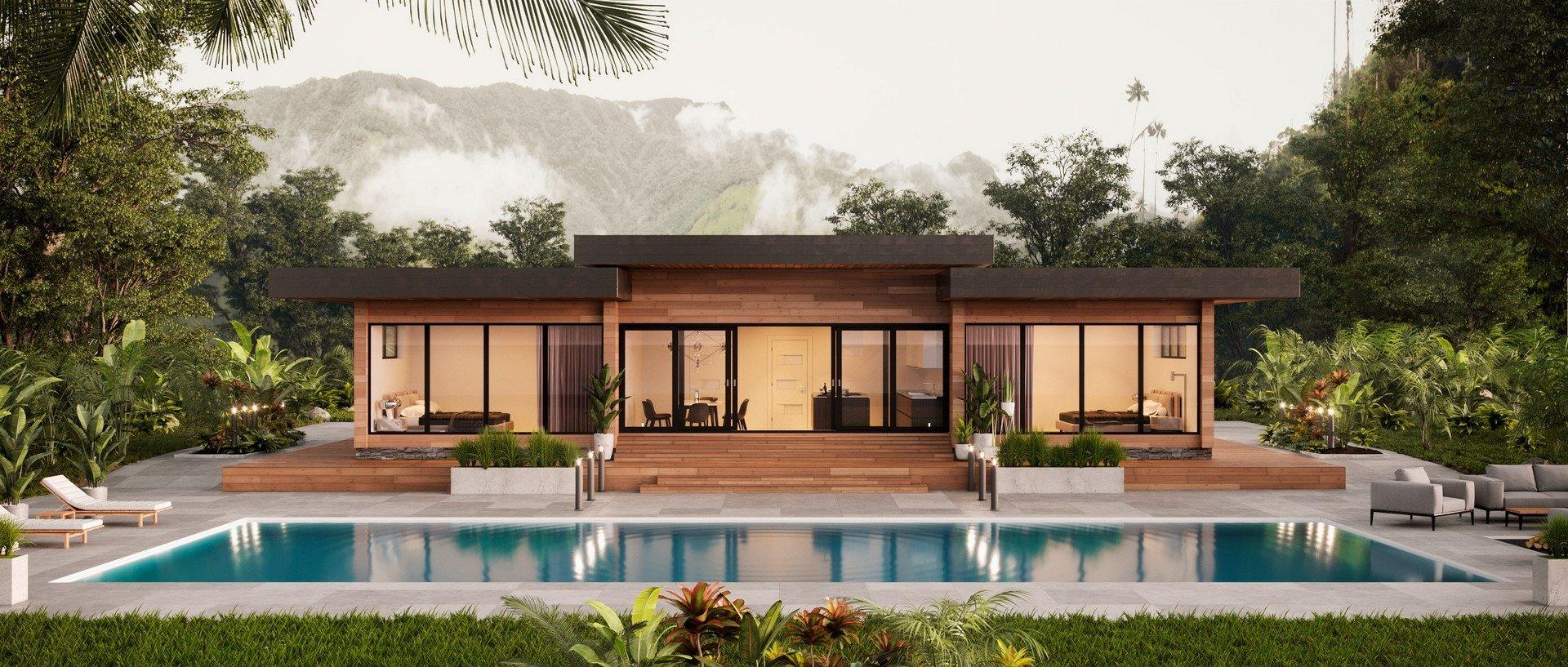 ᐉ Nature Prefab Modern Homes Faster
